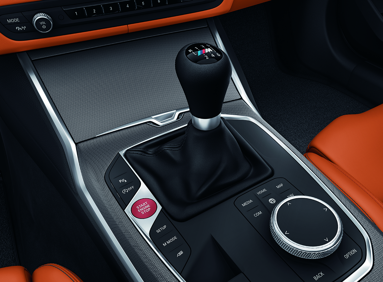 The All-New BMW M series transmission.