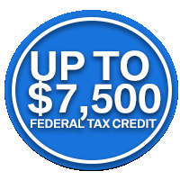up to $7,500 tax credit