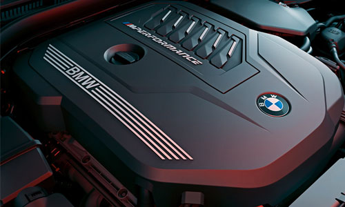 The BMW M TwinPower Turbo engine.
