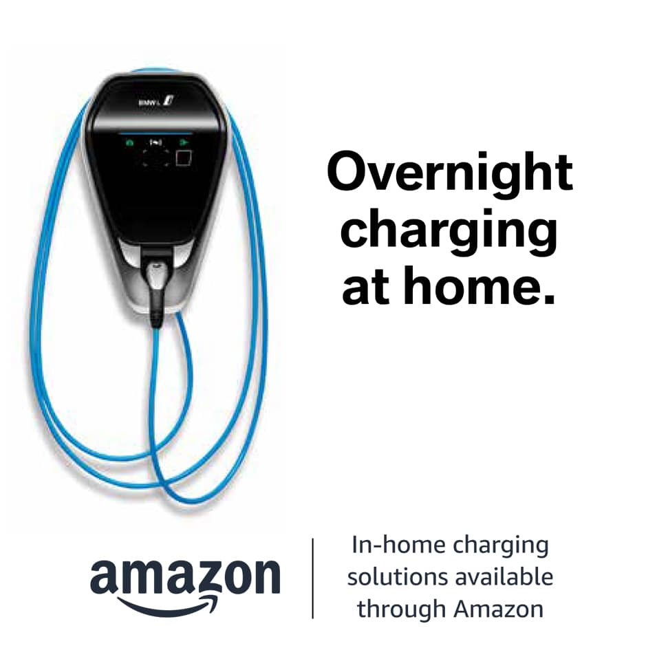 Amazon Overnight BMW Charging