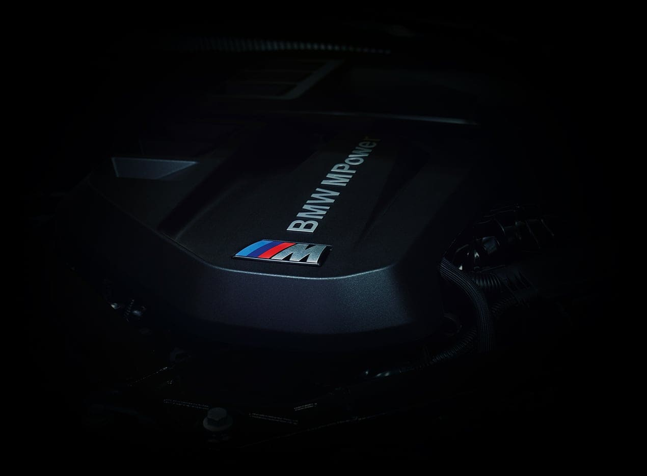 The All-New BMW MPower M Series Engine.