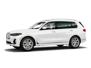 BMW X7 white suv