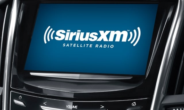 SiriusXM satellite radio in a Cadillac