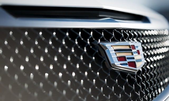 Cadillac grille and emblem
