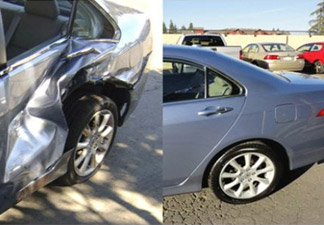 Car 1 Before and After
