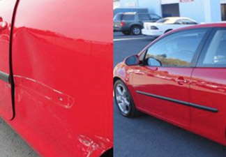 Car 2 Before and After