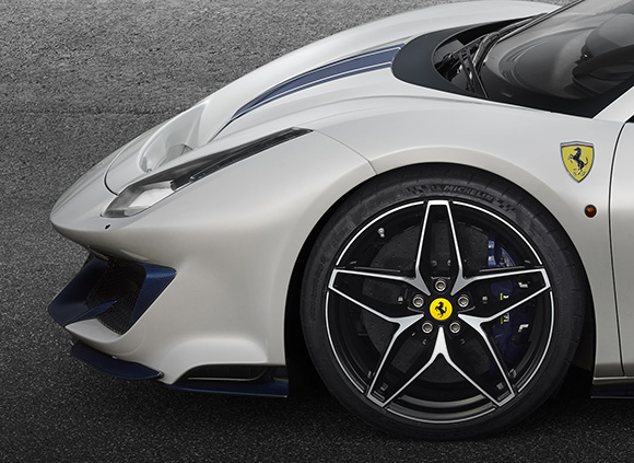 Ferarri 488 Pista Spider wheel