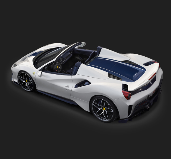 Ferarri 488 Pista Spider top