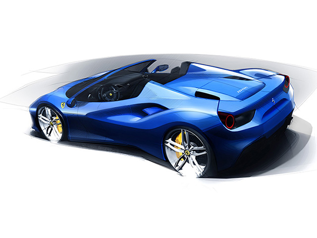 488 Spider Drawing