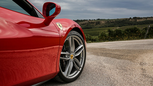 Ferrari 488 spider front wheel