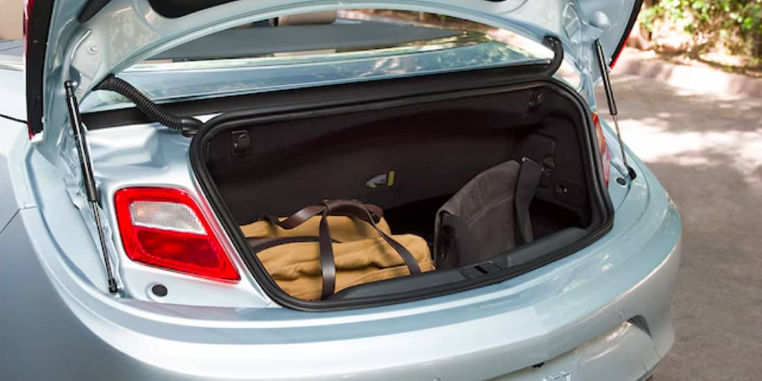 The 2019 Buick Cascada offers a deep trunk space