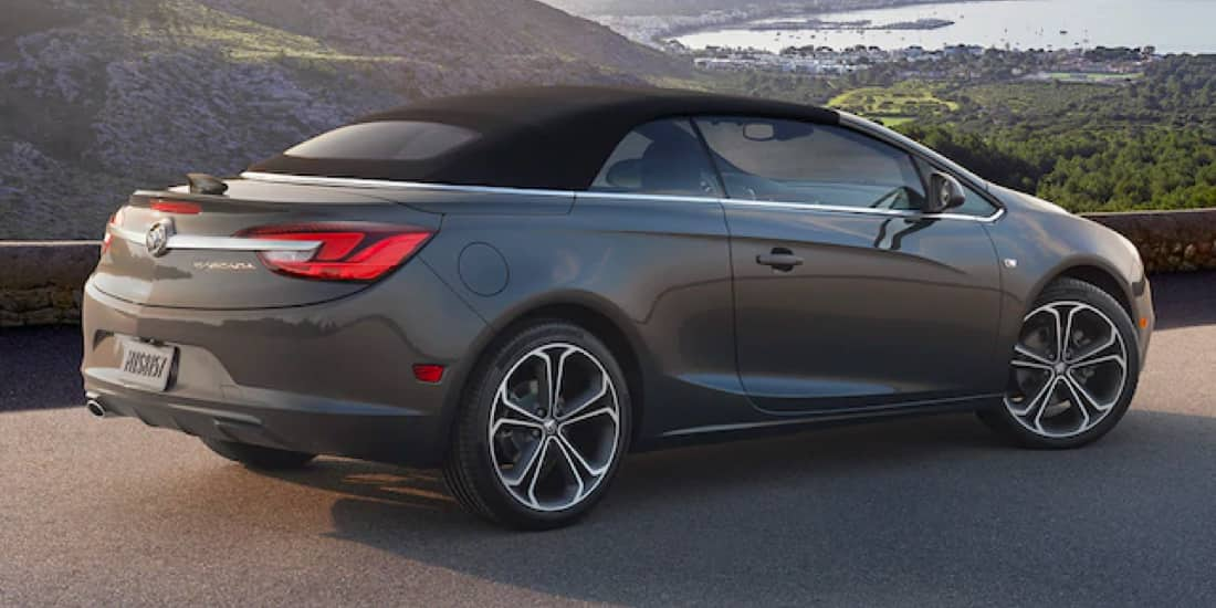 The 2019 Buick Cascada has smooth handling