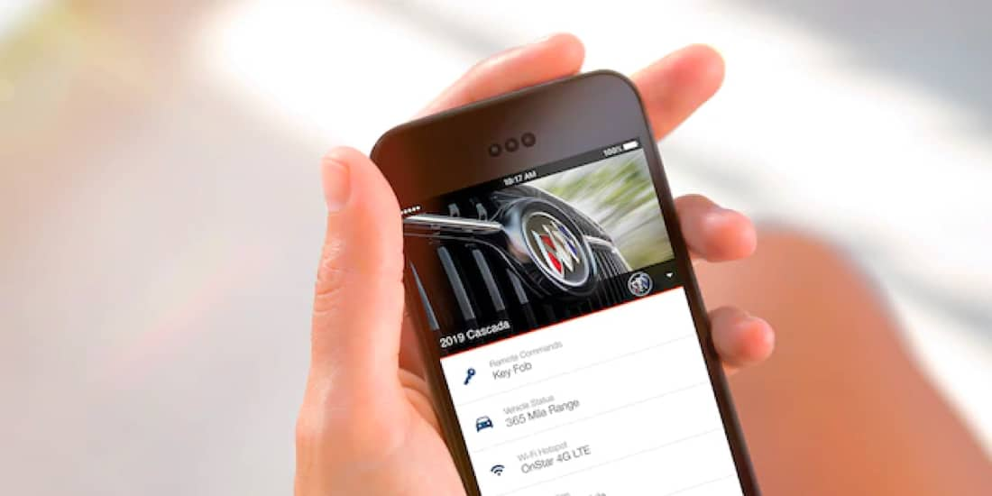 Buick offers a mobile application