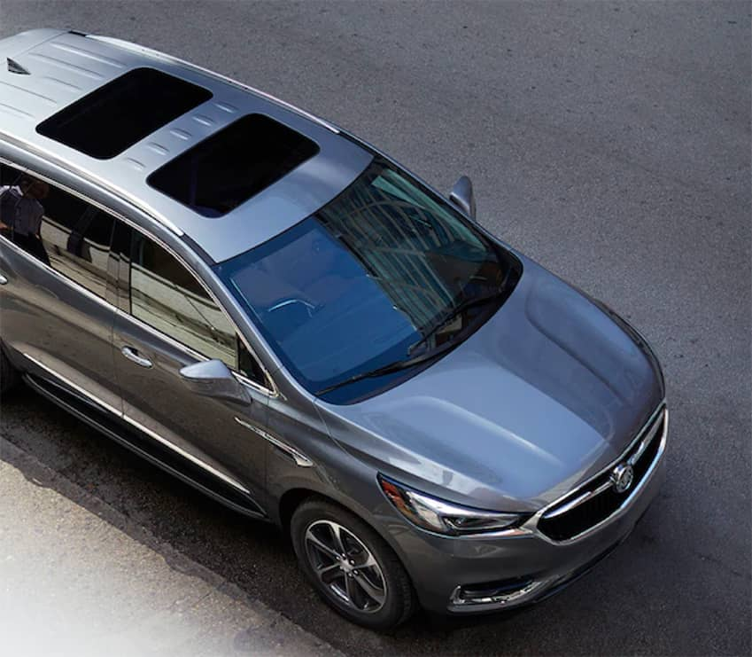 2019 Buick Enclave Angled View from Above