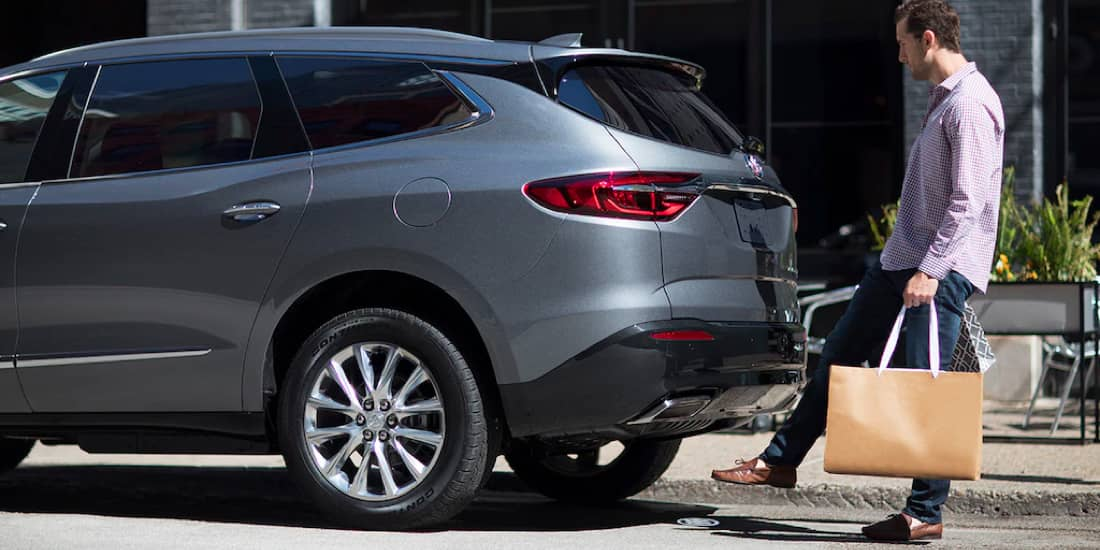 2019 Buick Enclave's Power Liftgate