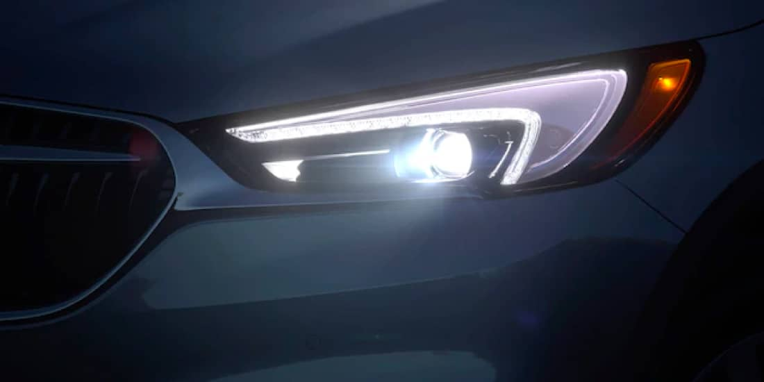 2019 Buick Enclave's Winged Led Headlamps