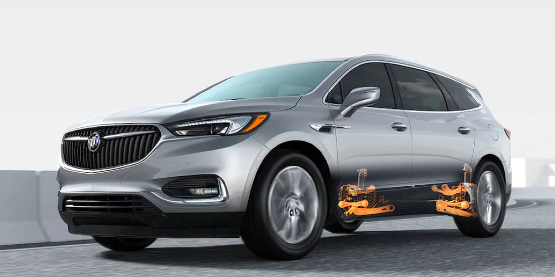2019 Buick Enclave's Five-Link Rear Suspension