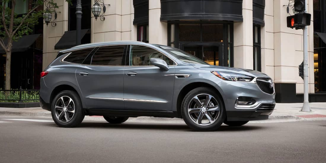 2019 Buick Enclave's All-Wheel Drive