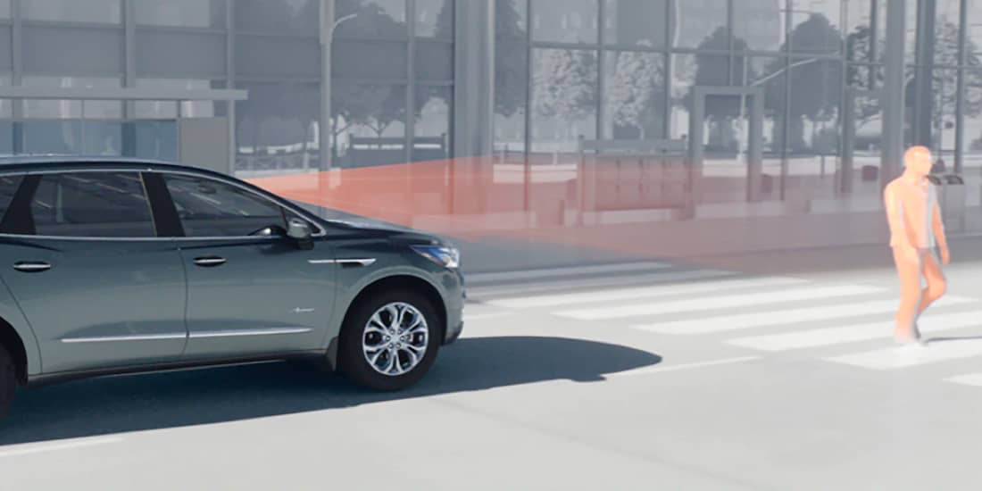 2019 Buick Enclave's Enhanced Automatic Emergency Braking