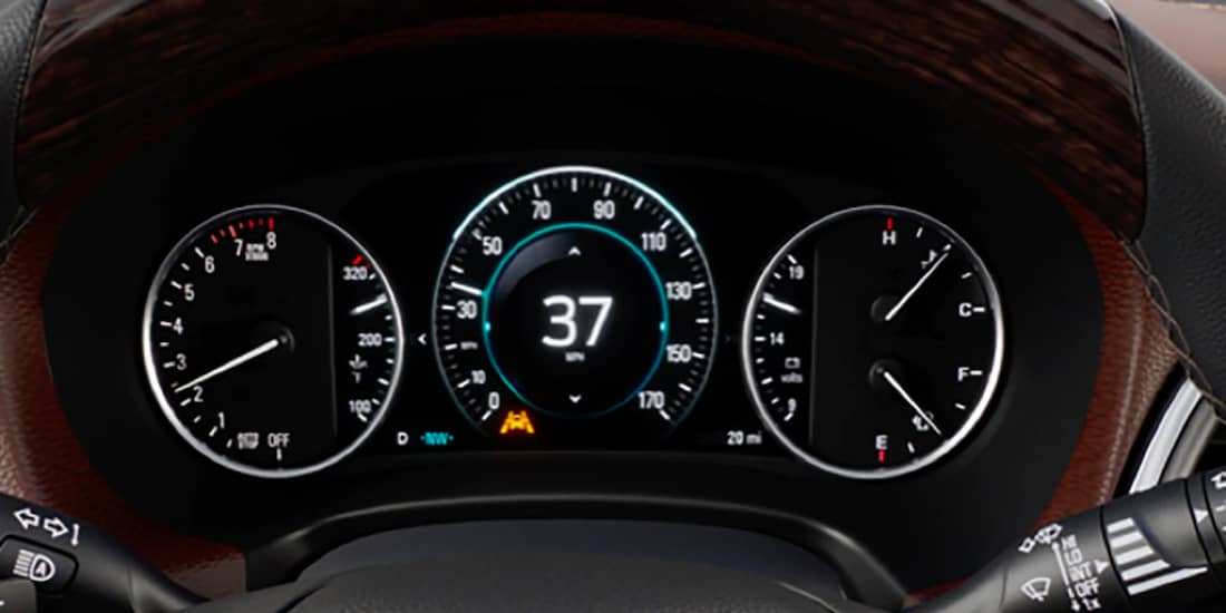 2019 Buick Enclave's Lane Keep Assist with Lane Departure Warning