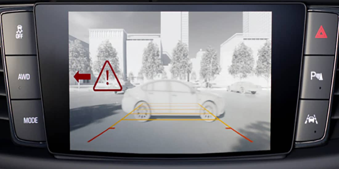 2019 Buick Enclave's Rear Cross Traffic Alert