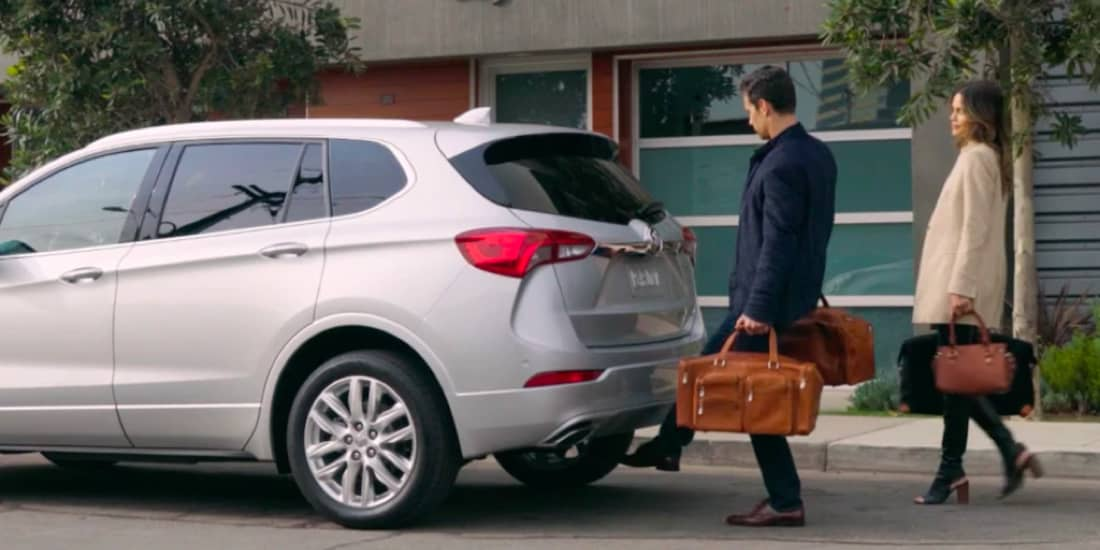 Buick Envision's hand's free liftgate