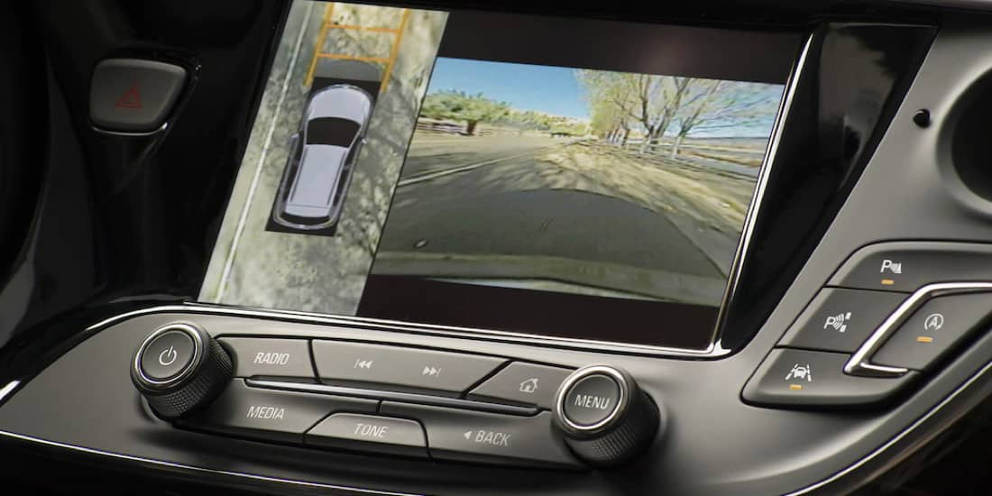 Buick Envision's surround vision technology