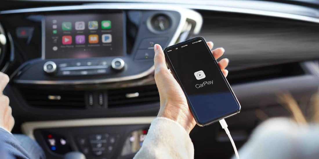 Buick Envision with Apple Carplay