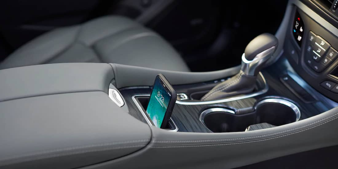 Buick Envision with wireless charging for smartphones