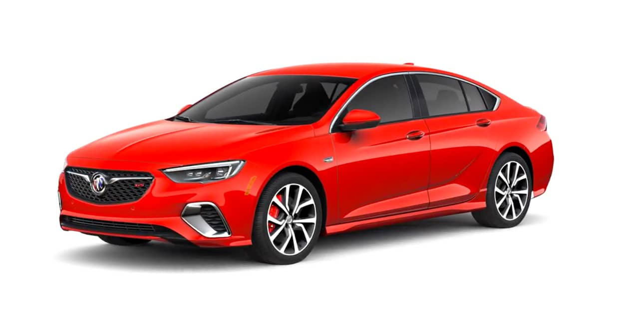 Sport Red Buick Regal GS