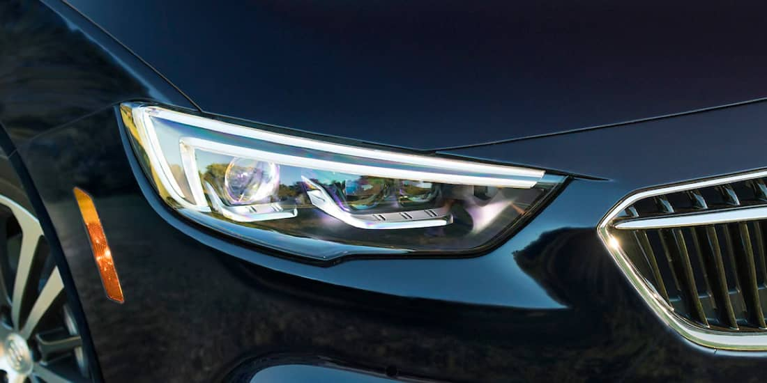 A Buick Regal Sportback right headlamp