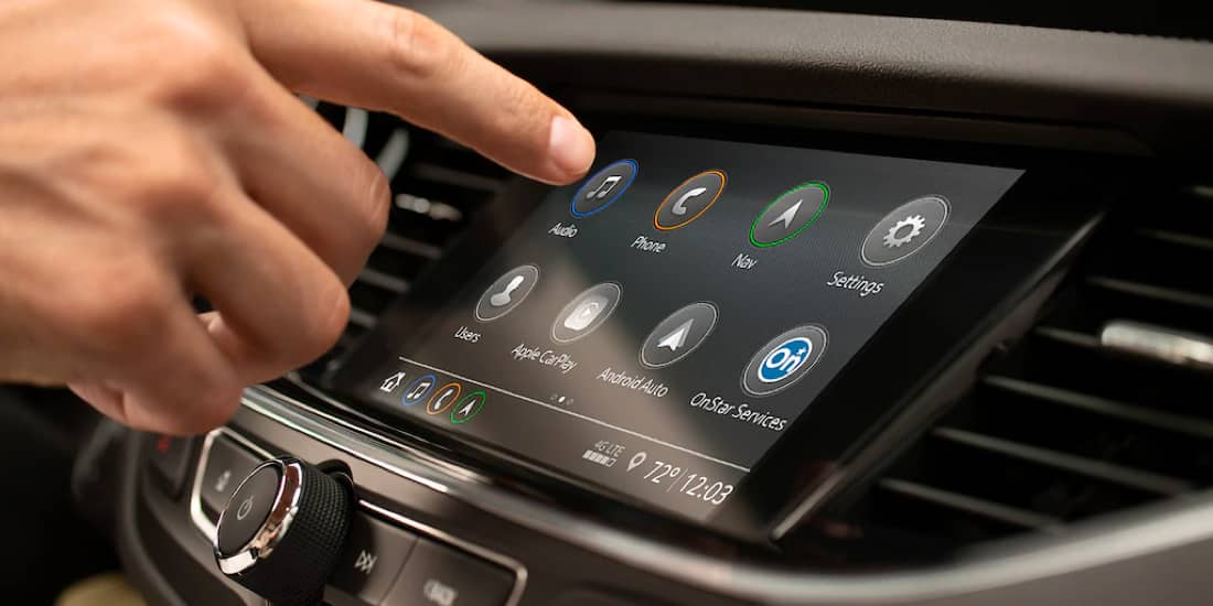 Regal Sportback infotainment system
