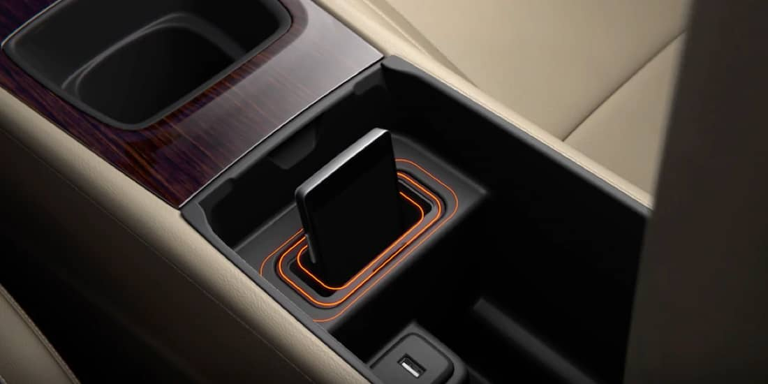 Regal Sportback wireless charging