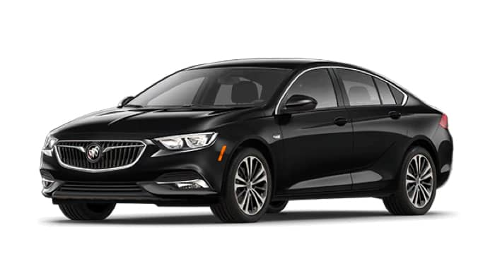 Black Regal Sportback, Preferred II Trim