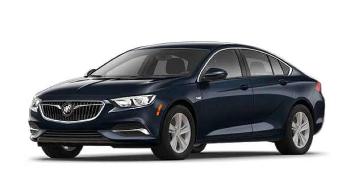 Blue Regal Sportback, Preferred Trim