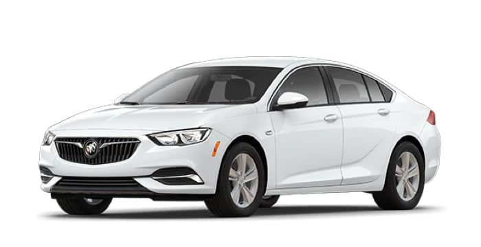 White Regal Sportback, with Regal trim
