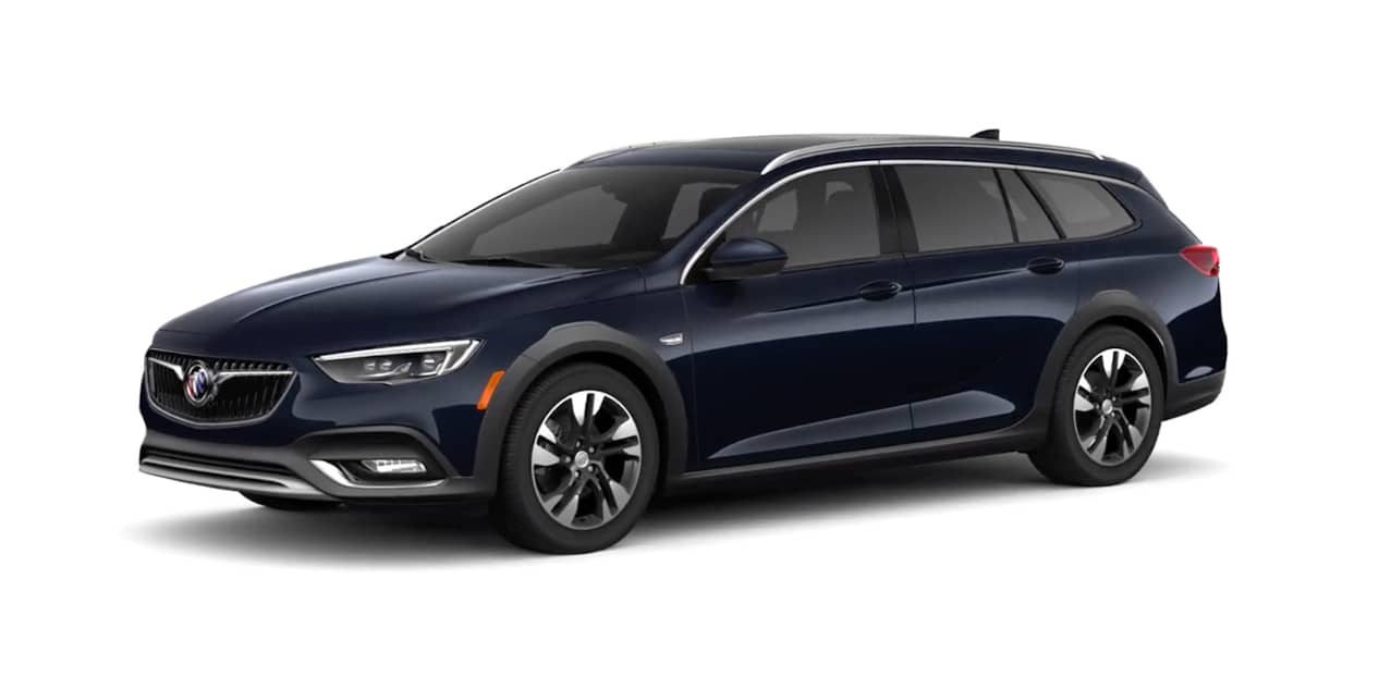 Dark Moon Blue Metallic Buick Regal TourX