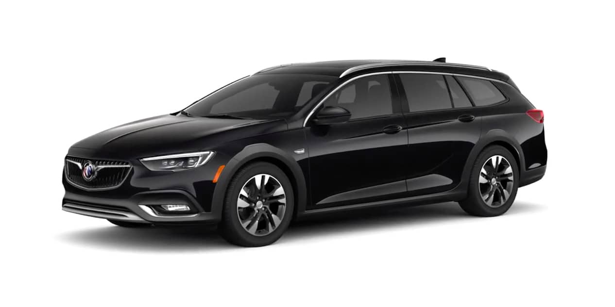 Ebony Twilight Metallic Buick Regal TourX
