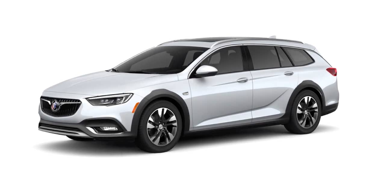 Quicksilver Metallic Buick Regal TourX
