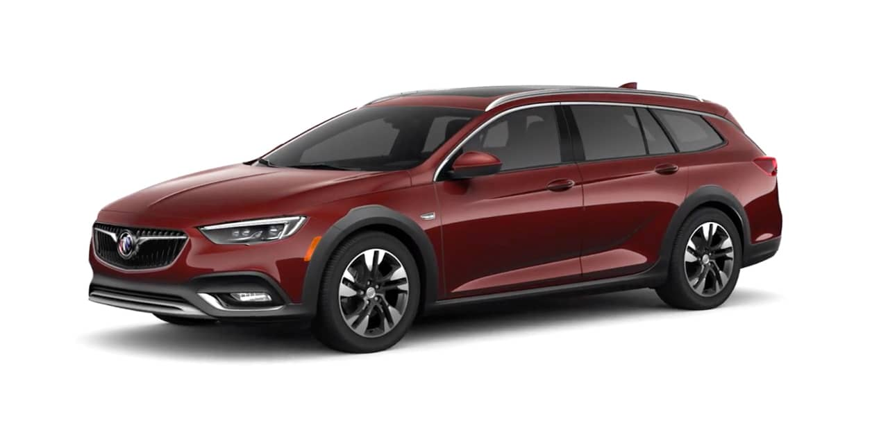 Rioja Red Metallic Buick Regal TourX