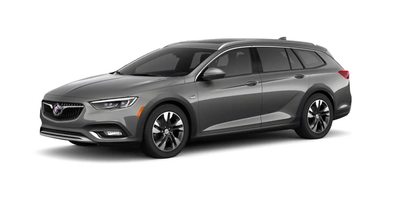 Smoked Pearl Metallic Buick Regal TourX