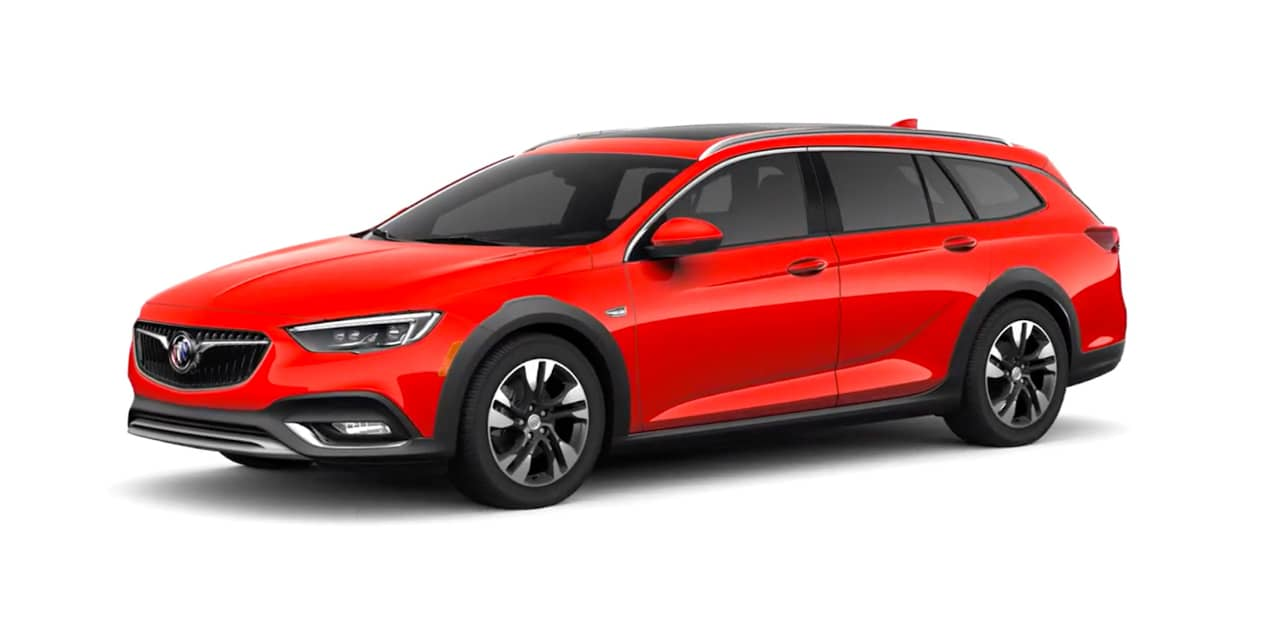 Sport Red Buick Regal TourX†
