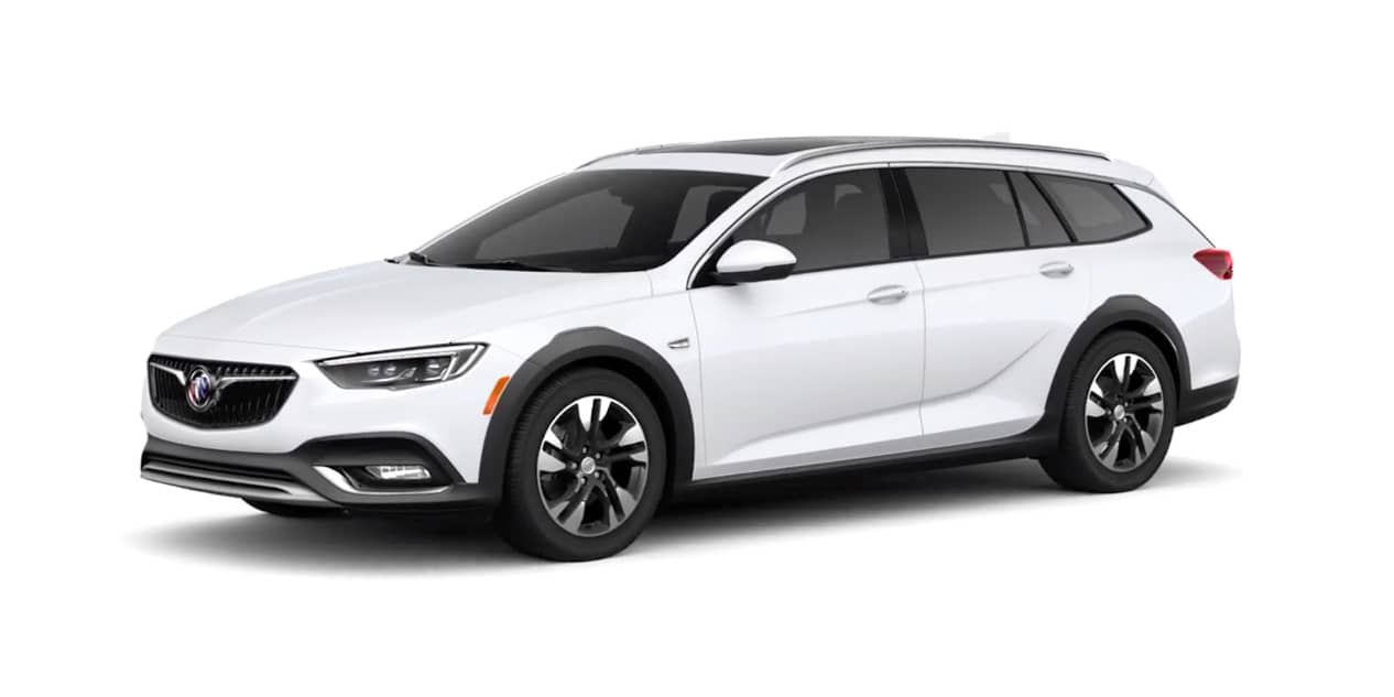 Summit White Buick Regal TourX