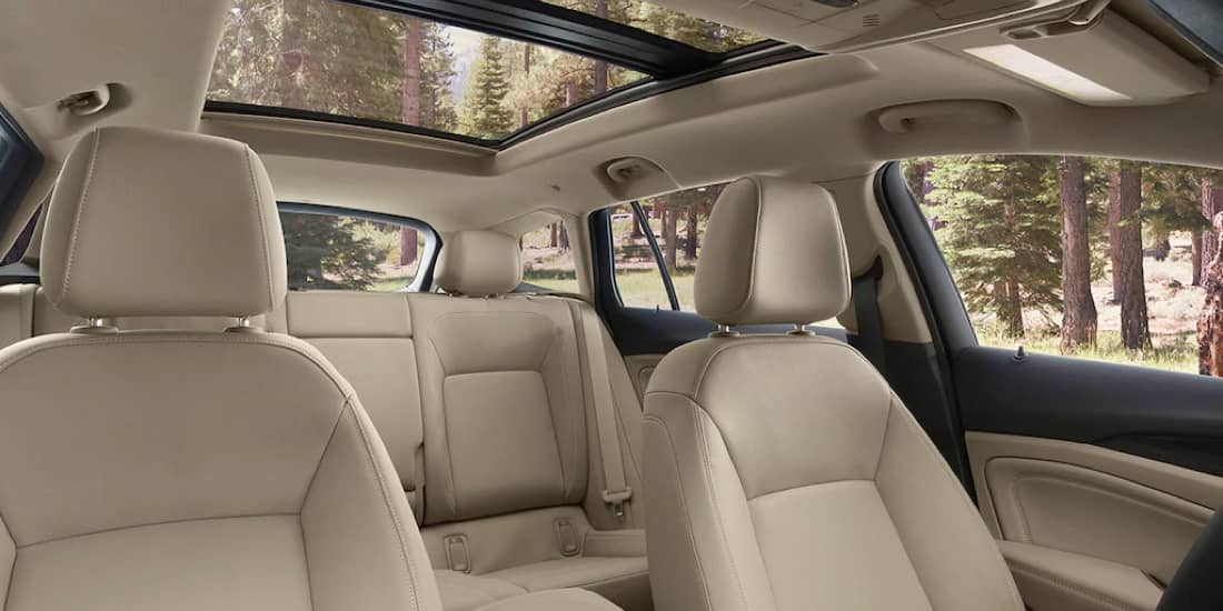 2019 Buick Regal TourX Leather-Appointed Seating
