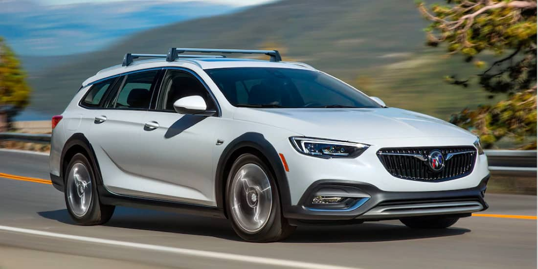 2019 Buick Regal TourX 8-Speed Automatic Transmission