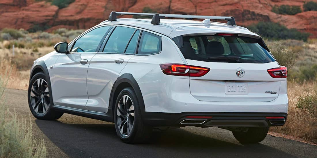 2019 Buick Regal TourX Five-Link Rear Suspension