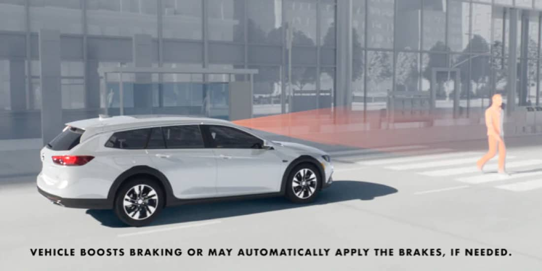 2019 Buick Regal TourX Enhanced Automatic Emergency Braking