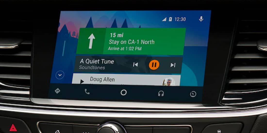 2019 Buick Regal TourX Android Auto