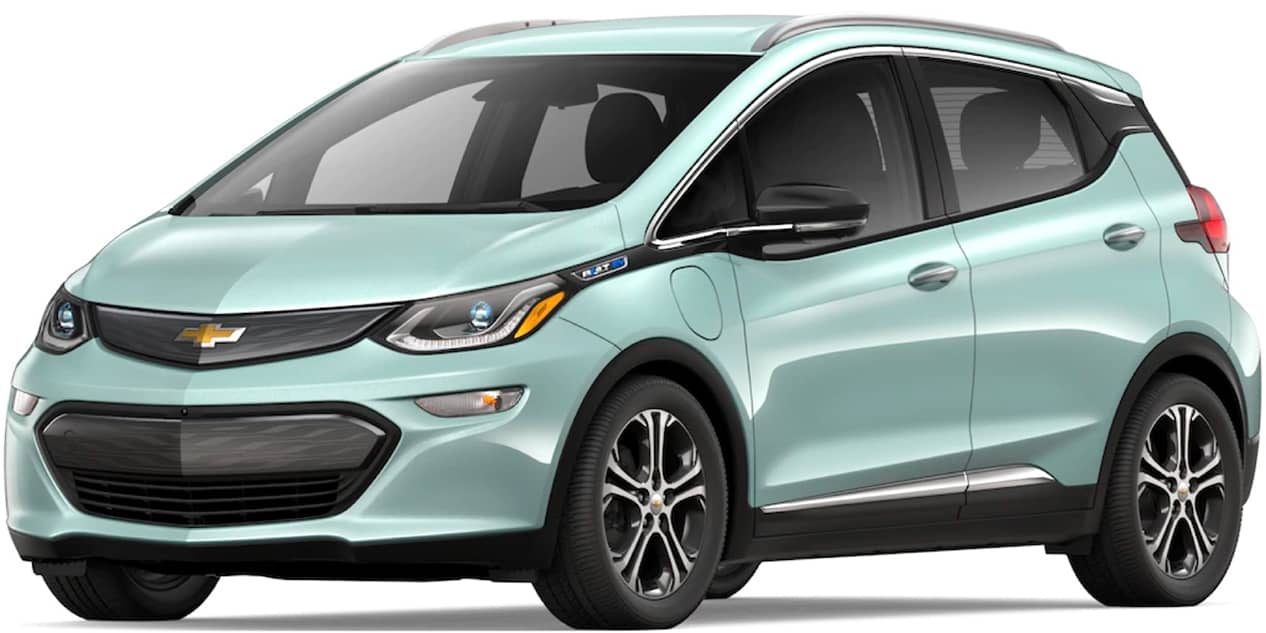 Green Mist Metallic Bolt EV