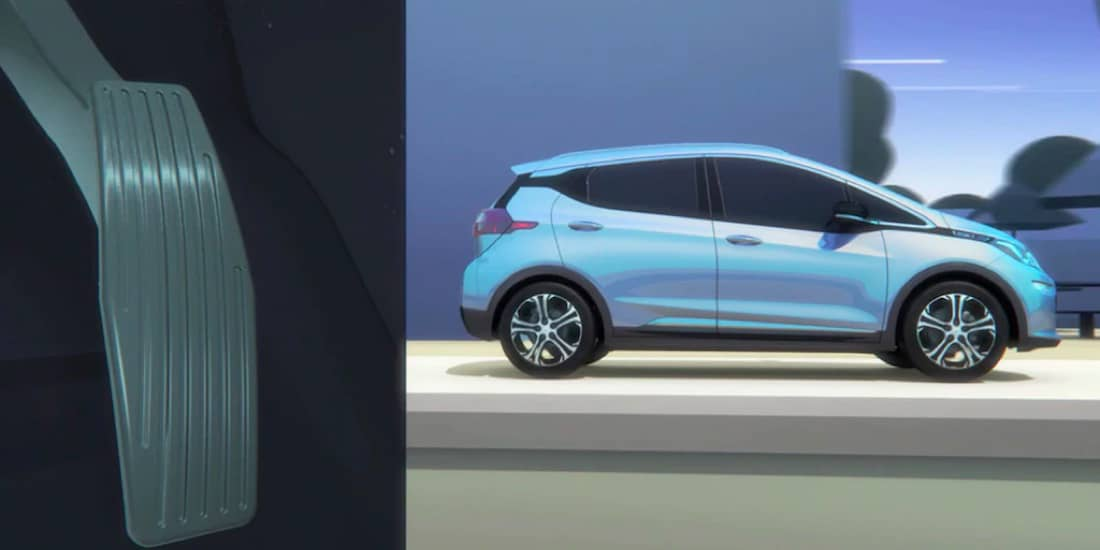2019 Chevrolet Bolt EV One Pedal Driving